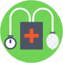 blood pressure, bp apparatus, bp gauge, bp monitor, bp operator icon