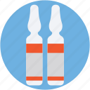 flacon, injection vial, medicine vial, phial, vial icon