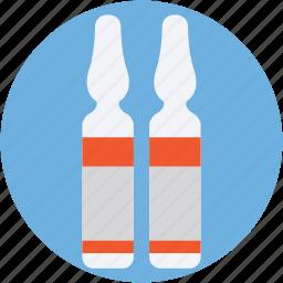 flacon, injection vial, medicine vial, phial, vial icon