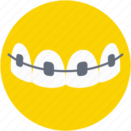 braces, dental braces, dental brackets, medical, teeth braces icon