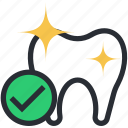 dental care, dental check up, dental cleanliness, healthy tooth, oral care icon