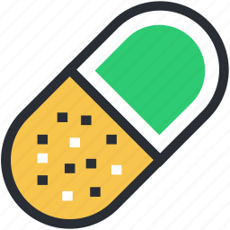 capsule, drugs, medical pills, medicines, tablets icon
