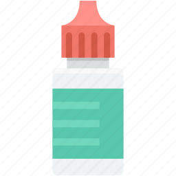drops bottle, drugs, eye drops, medicine, syrup icon