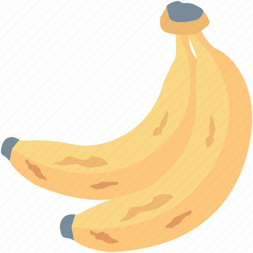 banana, food, fruit, healthy diet, plantains icon