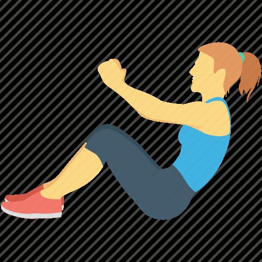Exercise Fitness Stretching Training Yoga Icon