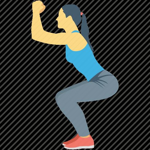 exercise, fitness, stretching, training, yoga icon