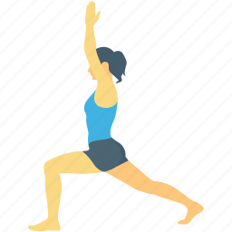 exercise, fitness, stretching, training, yoga icon