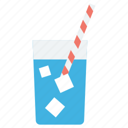 beverage, cold drink, glass, juice, soft drink icon
