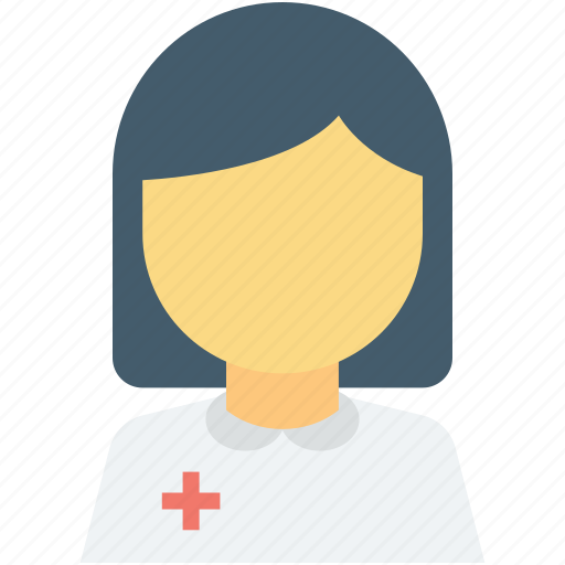doctor avatar, lady doctor, medical assistant, physician, surgeon icon
