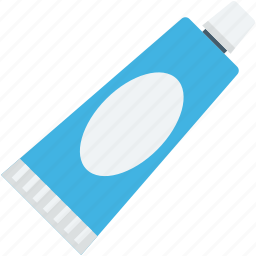 dentifrice, medication, medicine tube, toothpaste, toothpaste tube icon