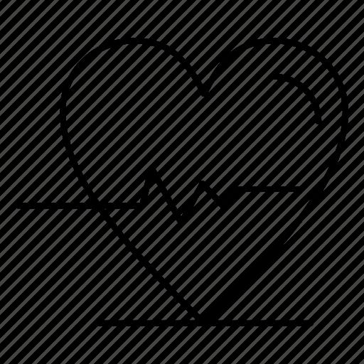 beat, heart, medical, medicine icon