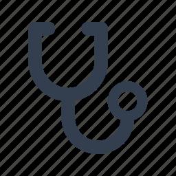cardiac, care, health, heart, medical, pulse, stethoscope icon