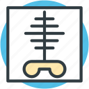 body part, human ribs, radiology, radioscopy, ribs icon