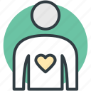 heart, heart disease, heart patient, heart problem, human heart icon