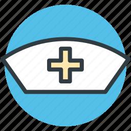nurse, nurse cap, nurse clothing, nurse hat, nurse uniform icon
