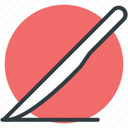 knife, lancet, scalpel, scalpel knife, surgical knife icon