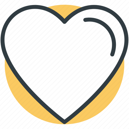 heart, heart shape, human heart, like sign, love icon