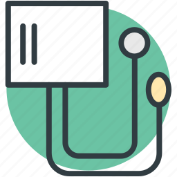 blood pressure operator, bp guage, bp monitor, bp operator, sphygmomanometer icon