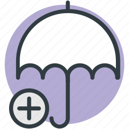 health care, health insurance, medical care, medical insurance, umbrella icon