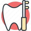 dental care, dental cleanliness, oral care, toiletries, toothbrush icon