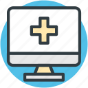 health app, medical aid, medical app, online aid, online first aid icon