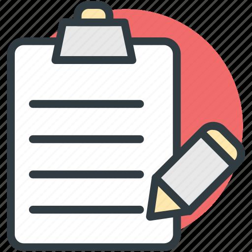 clipboard, diet chart, medications, pen, prescriptions icon