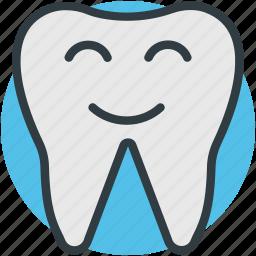 cartoon teeth, dental care, dental health, healthy teeth, oral care icon