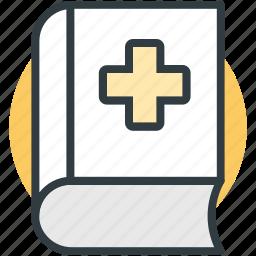 book, booklet, healthbook, medical book, medicine book icon