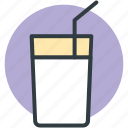 drink, glass, juice, lemon juice, lemonade icon