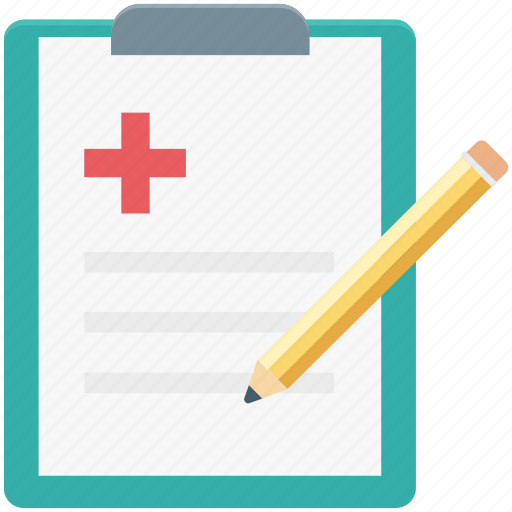 clipboard, medical report, patient report, prescriptions, report icon
