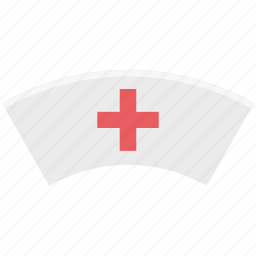 nurse, nurse cap, nurse clothing, nurse hat, nurse uniform icon
