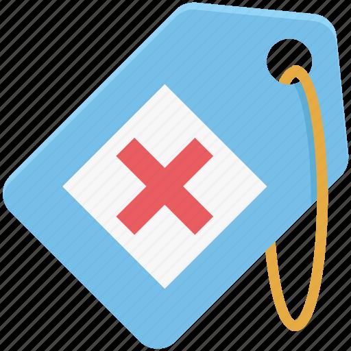 health clinic, hospital, hospital label, hospital tag, medical, medical tag, pharmacy icon