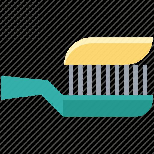 amalgam instrument, brush, brushing, dental brush, stomatology, toothbrush icon