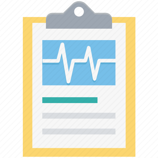 clipboard, heartbeat, medical report, medications, medicine chart, prescription icon