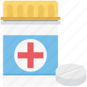drugs, medicine, medicine bottle, medicine jar, pharmaceutical, pharmacy, pills icon