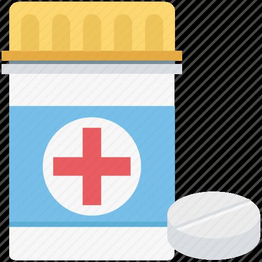 drugs, medicine, medicine bottle, medicine jar, pharmaceutical, pharmacy, pills icon