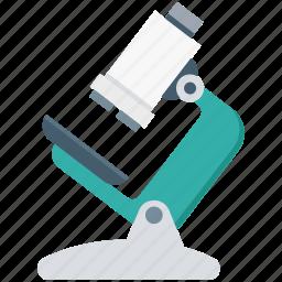 experiment, lab equipment, laboratory, microscope, optical microscope, research, science icon