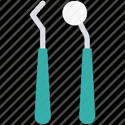 dental instrument, dental tool, dentist, dentist tool, plaque remover icon