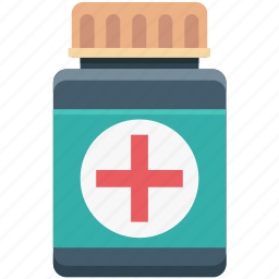drugs, medicine bottle, medicine jar, pills, syrup icon