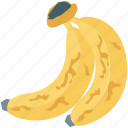 banana, fat, fruit, healthy food, nutrition icon