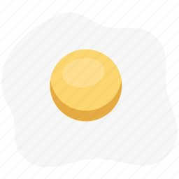 breakfast, egg, food, fried egg, healthy diet icon
