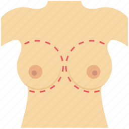 breast, breast health, health, healthcare, medical, tits icon