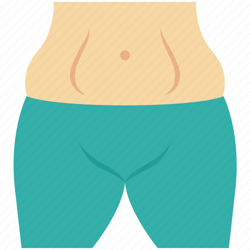 belly, diet, fitness, hospital, medical, navel, waist icon