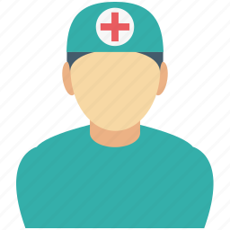 doctor, doctor avatar, medical assistant, surgeon, surgical technician icon