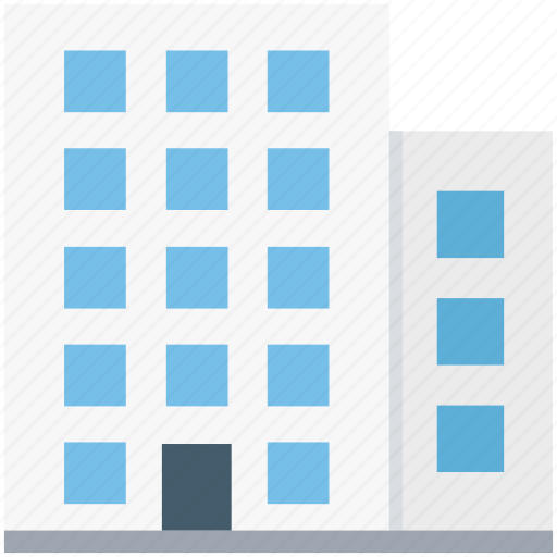 building, commercial building, flats, hospital, tower building icon