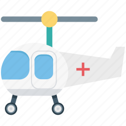air ambulance, emergency flight, helicopter, medevac, medical helicopter icon