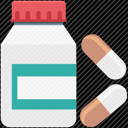 capsule, drugs, medical pills, medications, medicines, pharmacy, pills icon