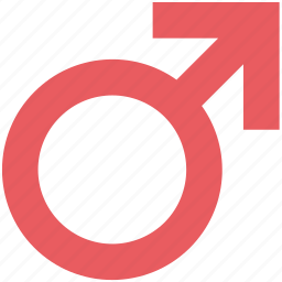 gender symbol, male, male gender, male sign, male symbol, man, sex symbol icon