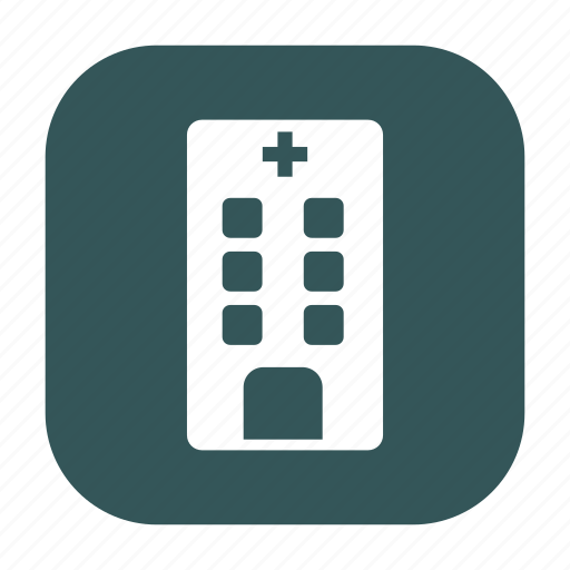 clinic, dispensary, doctor, healthcare, hospital, medical, medicine icon