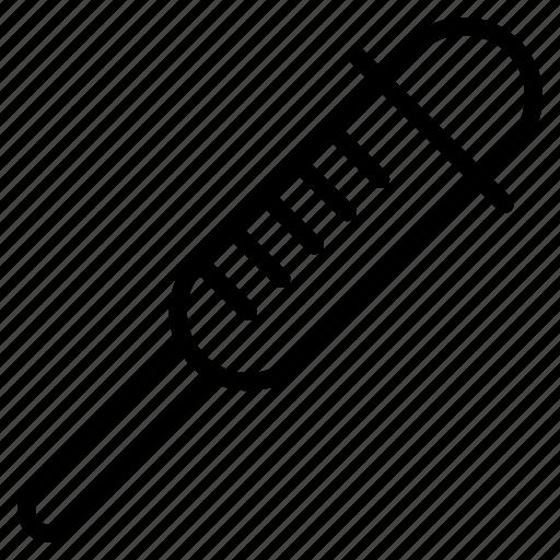 Dropper, healthcare, medical, syringe icon - Download on Iconfinder